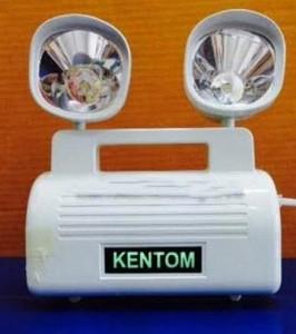 -Đèn sạc chiếu sáng khẩn cấp Kentom KT 403