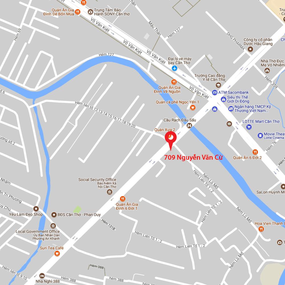 bản đồ LED 160 Cơ sở 3